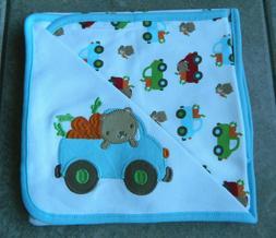 Receiving blanket Gymboree,Baby Beaver,NWT,reversible blanke