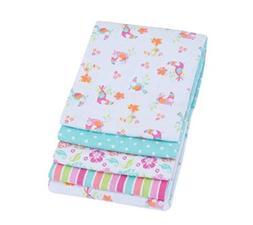 Garanimals 4 - Pack Receiving Blankets - Baby Girl