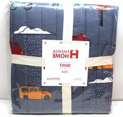 Reverse Boys Toddler Bedding Blanket Lightweight Quilt Cars/