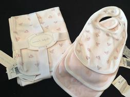 reversible baby girl blanket pink
