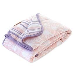 Burt's Bees Baby Reversible Blanket, Multipurpose Nursery &