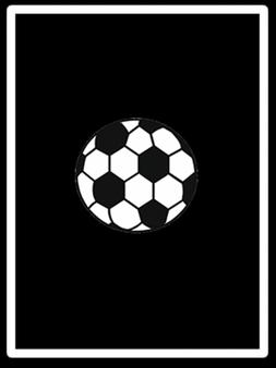 "Reversible Soccer Blanket/Throw - Black and White - 60"" x 80"