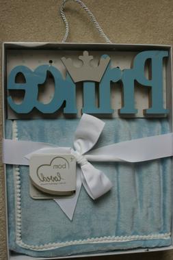 Born Loved Royal Baby Gift Set Room Art Prince & Luxury Plus