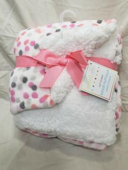 Little Starter Royal Plush Cozy Baby Blanket Reverse to Shep