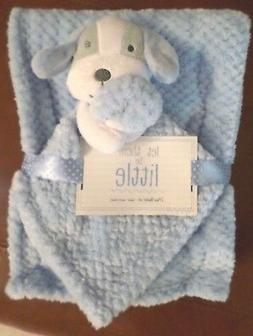 S.L Home Baby Boys Waffle Weave Blanket & Puppy Security Bla