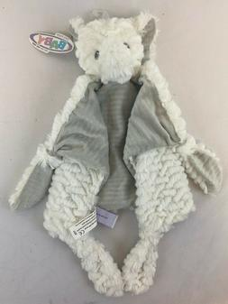 Mary Meyers White Gray Elephant Ears Security Baby Blanket L