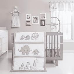 Trend Lab Safari Chevron 3-Piece Nursery Crib Bedding Set