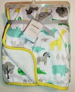 Carter's® Baby Safari Plush Blanket