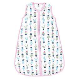 Hudson Baby Unisex Baby Safe Sleep Wearable Muslin Sleeping