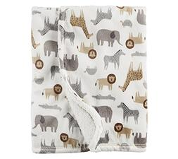 Carter's Safari Plush Blanket