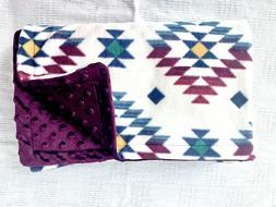 *SALE* Soft Minky Newborn Baby Blanket, Swaddling Blanket, R