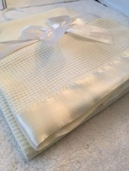 Satin Trim Baby Blanket like Morgan