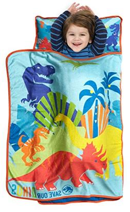 Jurassic World Save Our Dinos Toddler Nap Mat - Includes Pil