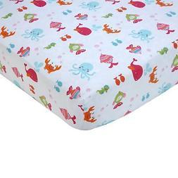 Carter's Sea Collection Crib Sheet