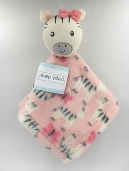 Baby Gear Security Blanket & Plush Zebra, Girls Shower Soft