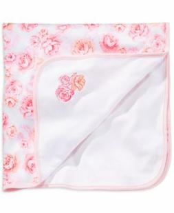 First Impressions Security Blanket Baby Shower Pink Flowers
