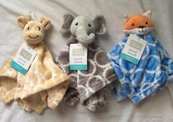 Hudson Baby Security Blanket, Plush Gift Elephant, Fox, Gira