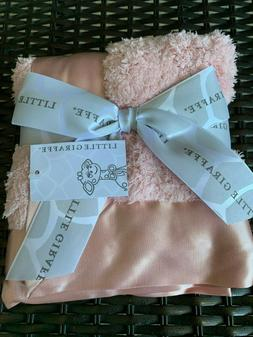 Little Giraffe Security Chenille Blanky Lotus Pink New With