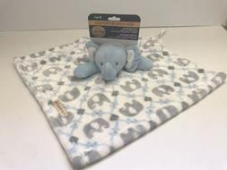 Blankets and Beyond Security Blanket Elephant Pink Lovey Bab