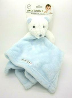 Blankets & Beyond Security Blanket & Plush White Bear Boys G