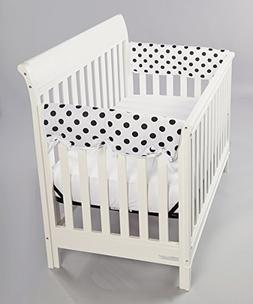 Rockingham Road Set  Small Crib Rail Covers Gender Neutral B