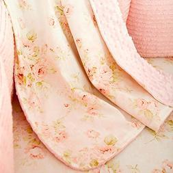 Carousel Designs Shabby Chenille Crib Blanket