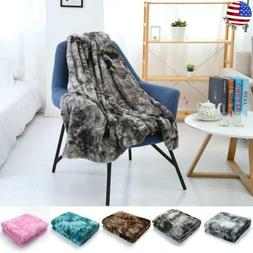 Shaggy Blanket Plush Soft Bed Sofa Warm Throw Bedding Cover