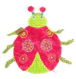 Shaped Bright Whimsical Ladybug Baby Blanket by La Galleria