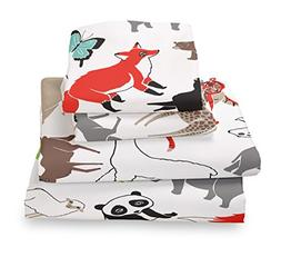 Where The Polka Dots Roam Full Size Sheet Set for Boys and G