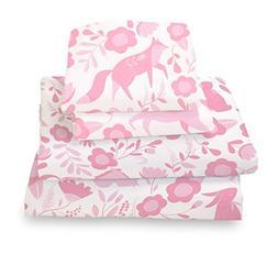 Where The Polka Dots Roam Full Sheet Set Pink Folk - Double