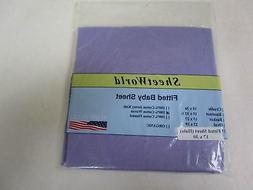 SheetWorld Fitted Bassinet Sheet  - Solid NEW