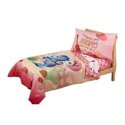 Disney Sheriff Callie Comforter Set Toddler 4 Piece Pink Bed