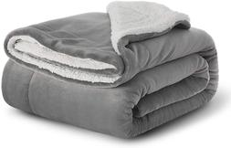 Bedsure Sherpa Fleece Baby Throw Blankets Uni For Boys, Girl