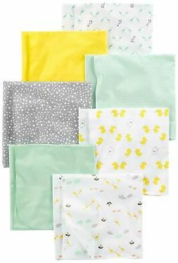 Simple Joys by Carter's Baby 7-Pack Flannel Receiving Blanke