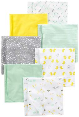 Simple Joys by Carter's Baby Unisex 7-Pack Flannel Receiving