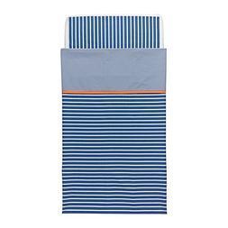 Ikea Skamtsam Crib Duvet Cover / Pillowcase, Dark Blue