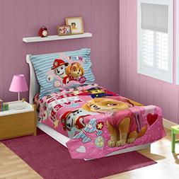 Paw Patrol Skye Toddler Bedding Set, Pink