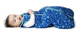 Baby deedee Sleep Nest Tee Baby Sleeping Bag- Playful Whales