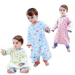 GEX Baby Sleep Sack 100% Cotton Wearable Blanket Baby Sleepi