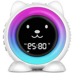 ICODE Sleep Training Alarm Clock for Kids, Wake Up Light Ala