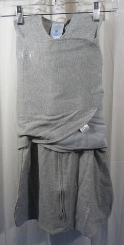 sleepsack 100 percent cotton swaddle heather gray