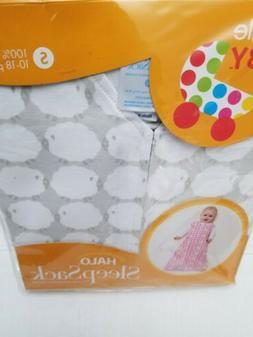 """HALO SleepSack Baby Wearable Blanket Small 23""""-26"""" 10-18 lbs"""