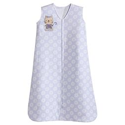 Halo SleepSack Cotton Wearable Blanket, Lilac with Kitty, Me