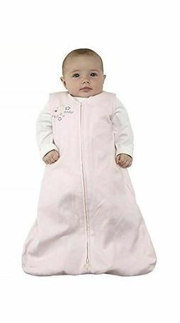 HALO SleepSack 100% Cotton Wearable Blanket, Soft Pink, Smal