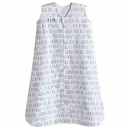 Halo Sleepsack Cotton Wearable Blanket, Squares and Triangle