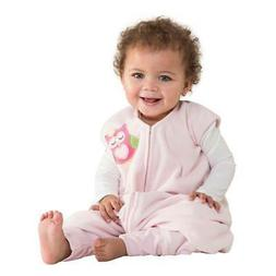 HALO SleepSack Early Walker Microfleece - Pink Owl