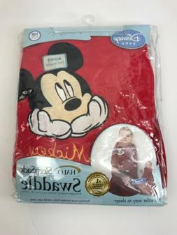Halo SleepSack Swaddle Mickey Baby Fleece Blanket In The Cri