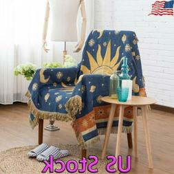 Slipcover Sofa Chair Tassels Blanket Warm Soft Sofa Cover Ba