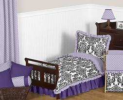 Sweet Jojo Designs Sloane Lavender Purple White Polka Dot an