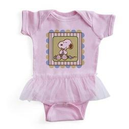 CafePress - Snoopy Blanket - Blue - Baby Tutu Bodysuit